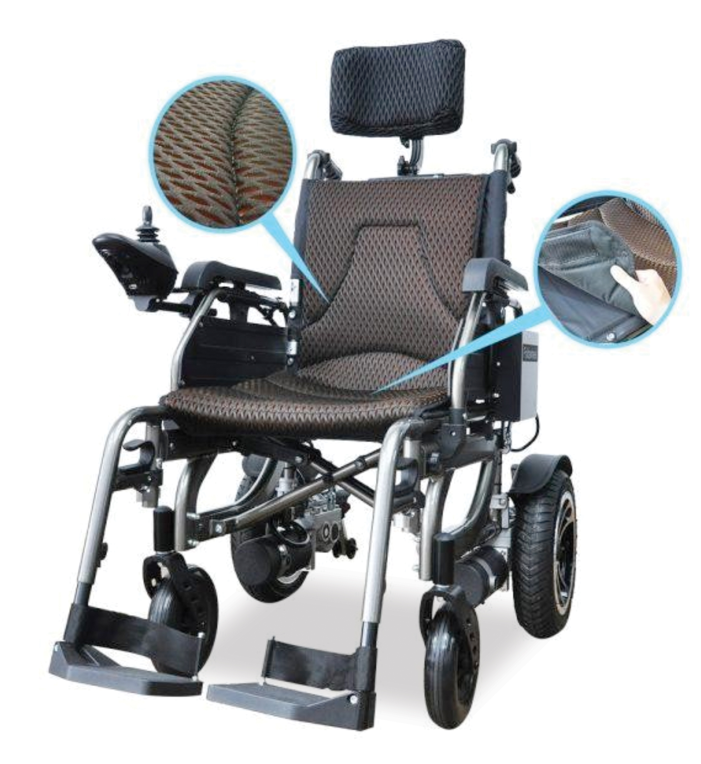 MOTORIZED WHEEL CHAIR (MS-WC-M1)